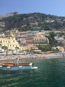 A quick picture I snapped from our boat pulling up to Positano, my favorite Italian city.